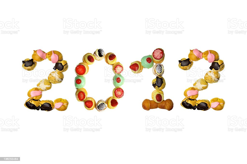 pastry 2012 royalty-free stock photo
