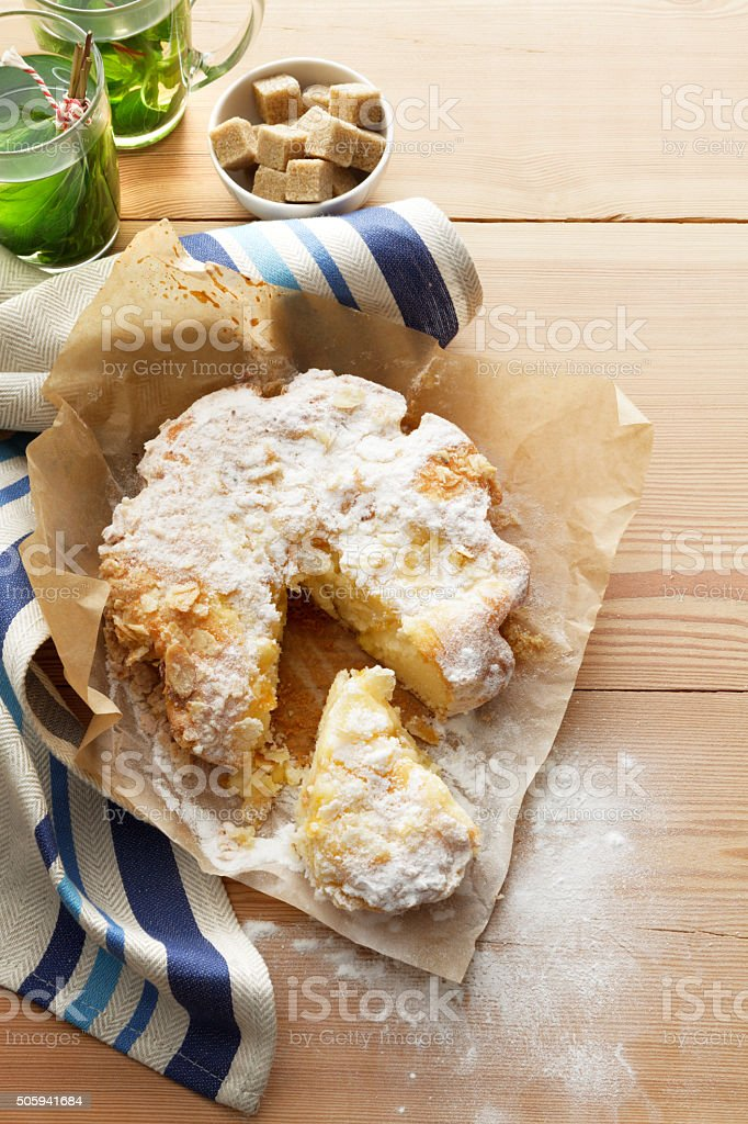 Pastry: Apple Cake stock photo