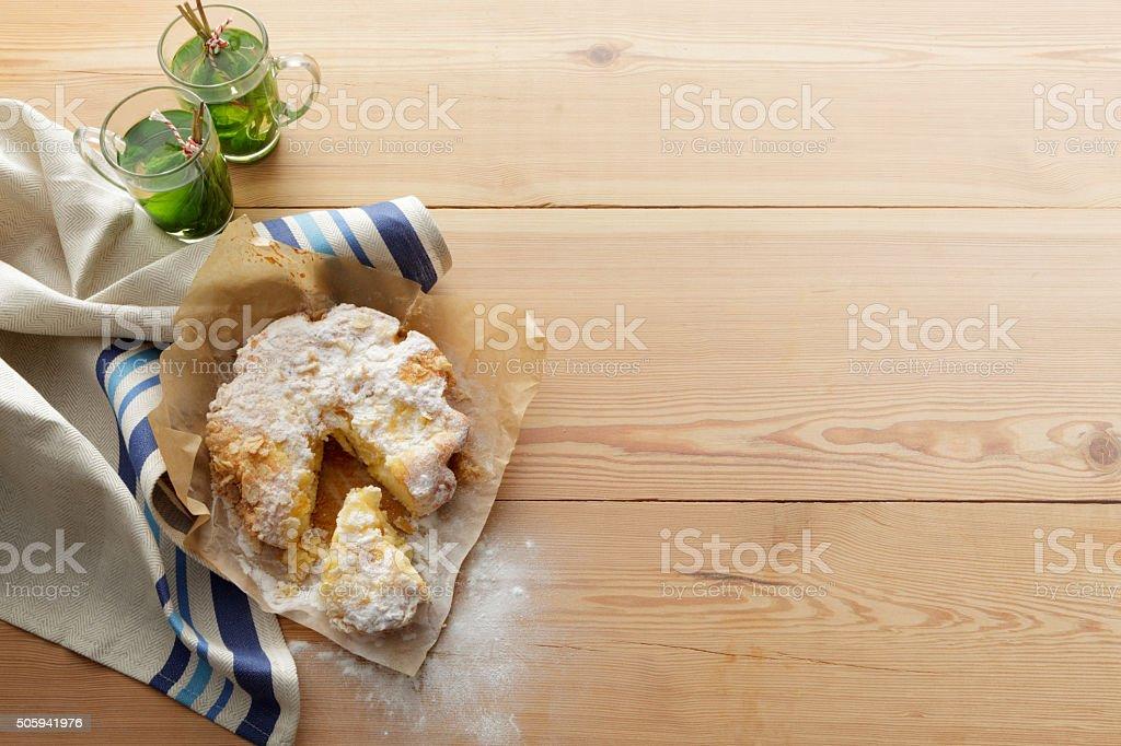 Pastry: Apple Cake stock photo