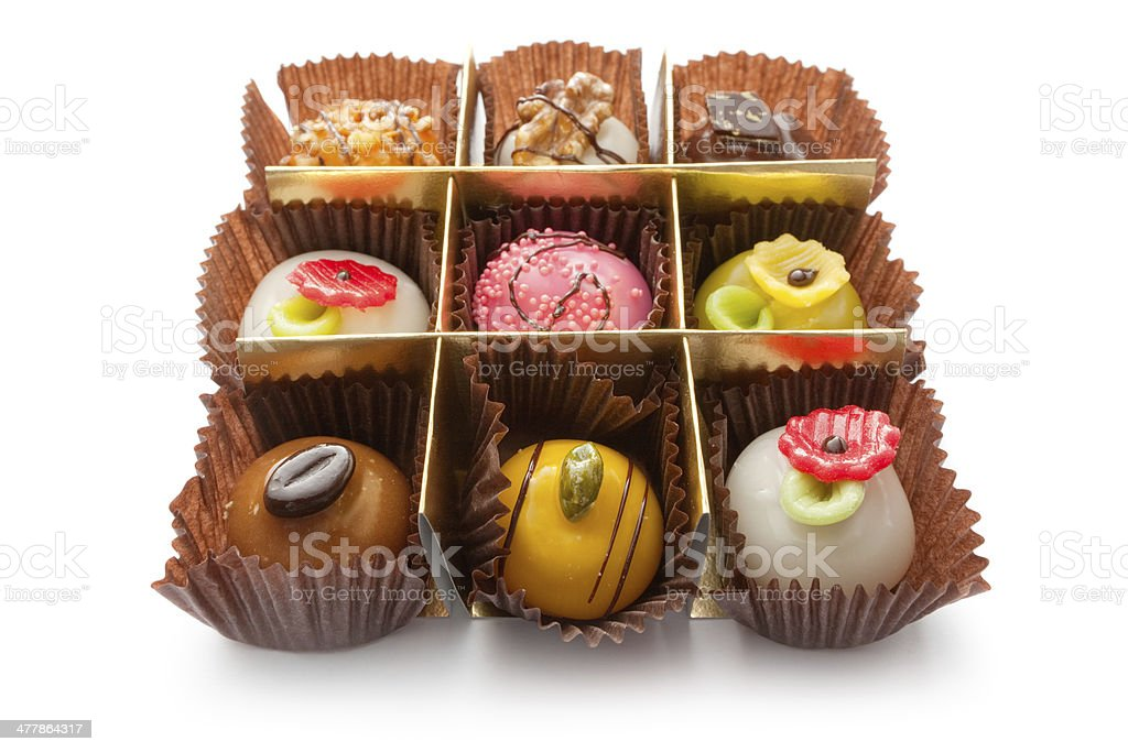 Pastry: Chocolate Candy royalty-free stock photo