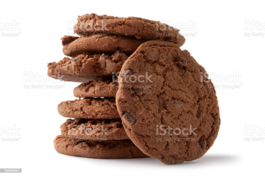 Pastry: Chocolate Chip Cookie royalty-free stock photo