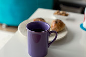 pastry coffee cup breakfast