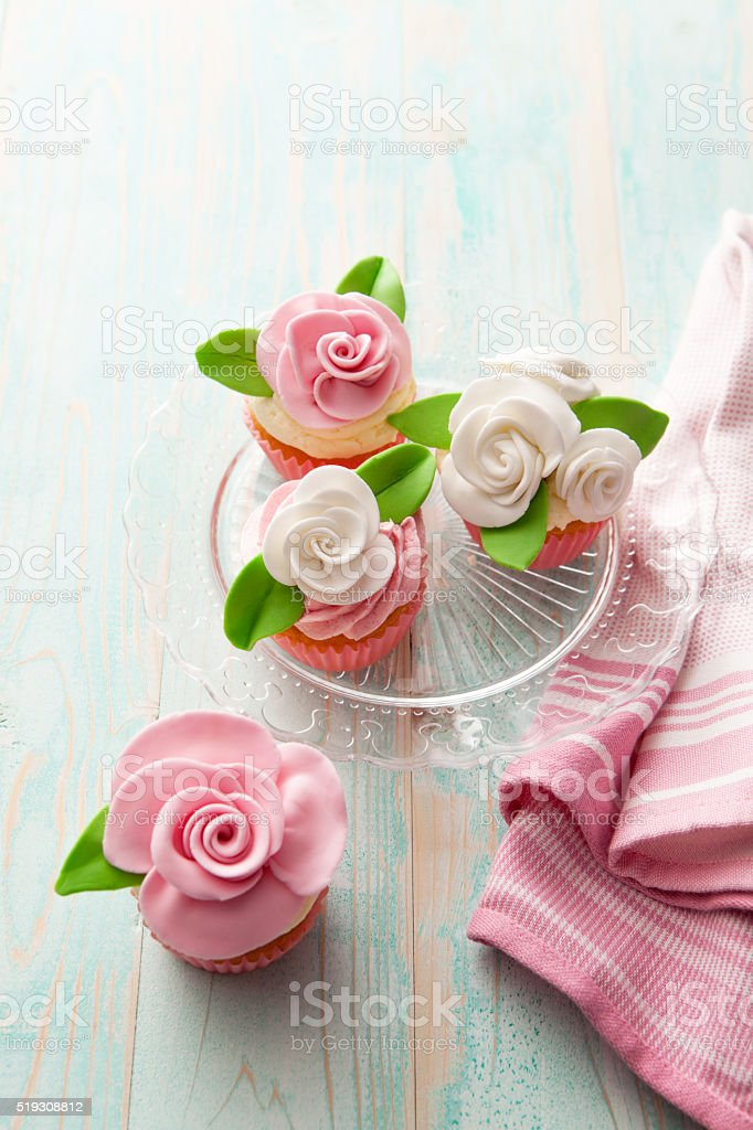Pastry: Cupcakes Still Life stock photo