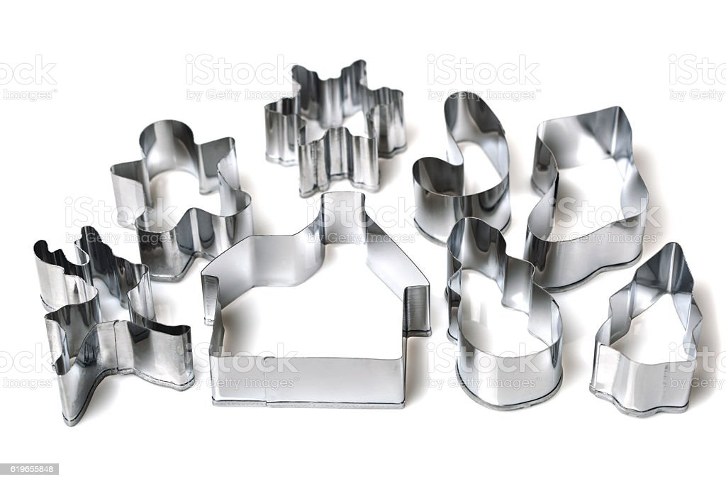 pastry cutters stock photo
