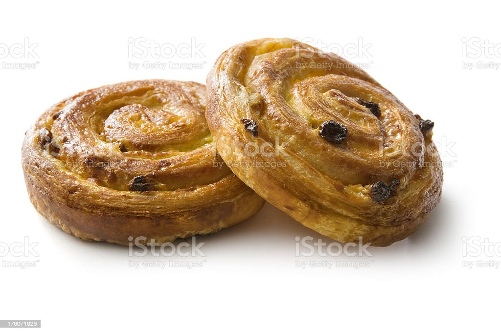 Pastry: French Breadrolls royalty-free stock photo