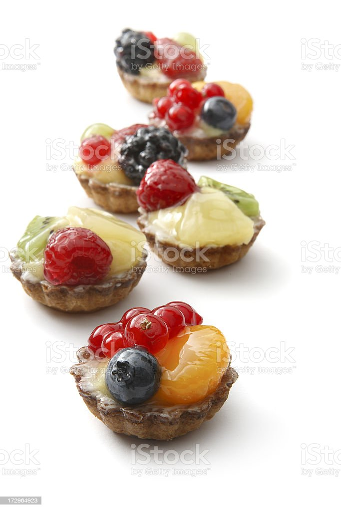 Pastry: Fruit Pie royalty-free stock photo