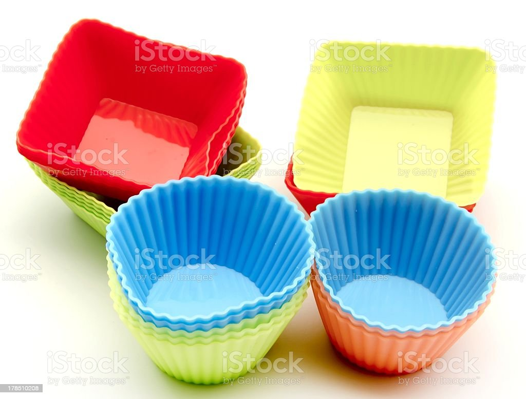 Pastry molds royalty-free stock photo