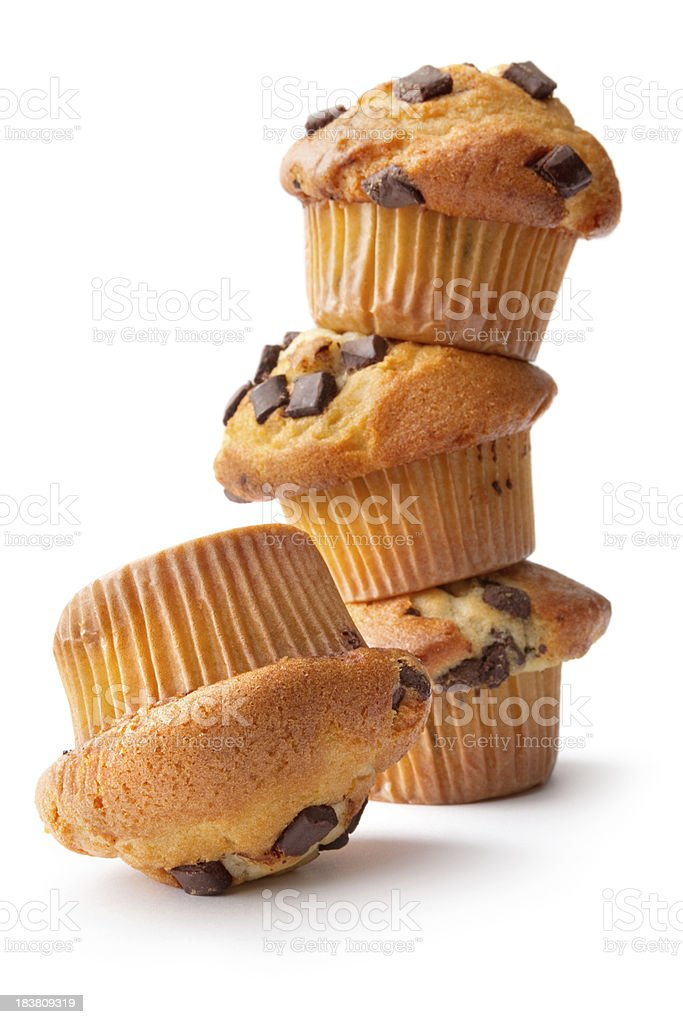 Pastry: Muffin royalty-free stock photo