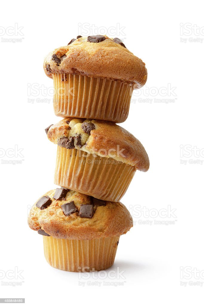 Pastry: Muffin stock photo