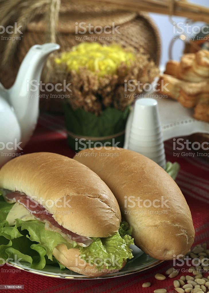 pastry on the table royalty-free stock photo