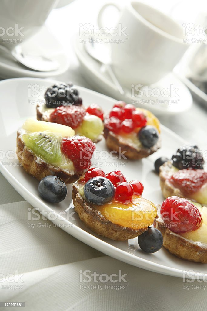 Pastry Stills: Fruit Pie royalty-free stock photo