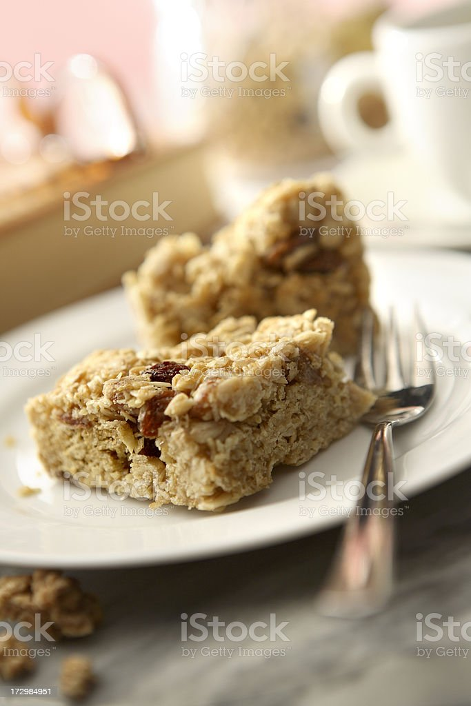 Pastry Stills: Oatmeal Cake royalty-free stock photo