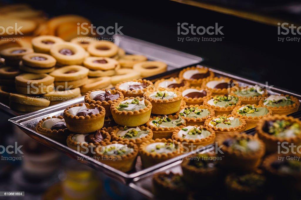 Pastry Treats stock photo
