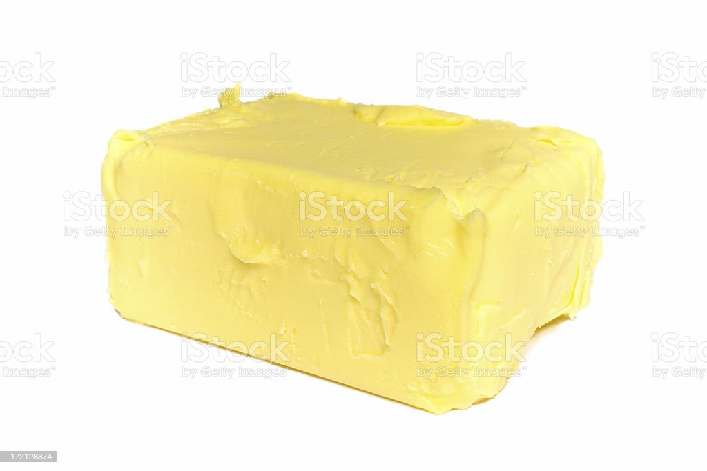 Pat of Butter royalty-free stock photo