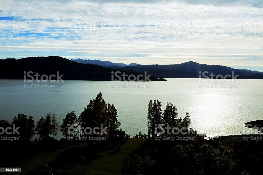 Patagonia Argentina Nahuel Huapi Lake royalty-free stock photo