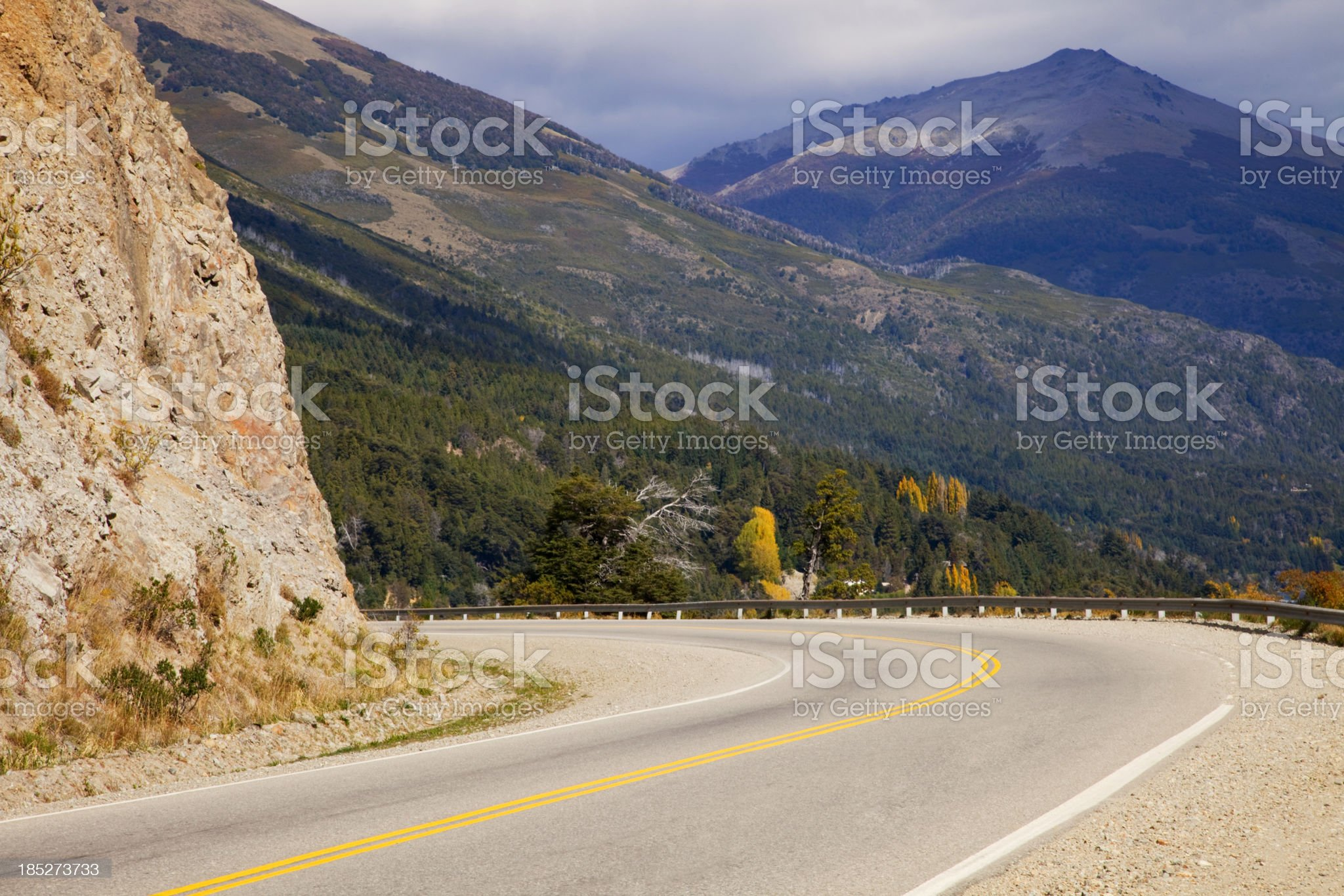 Patagonia Argentina Route royalty-free stock photo