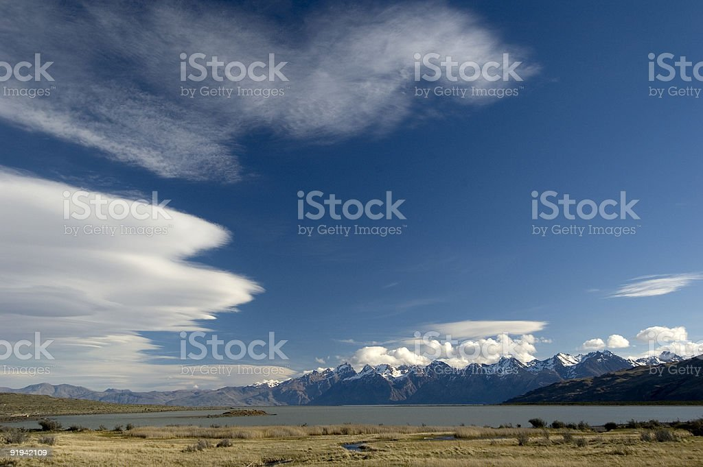 Patagonia Landscape stock photo