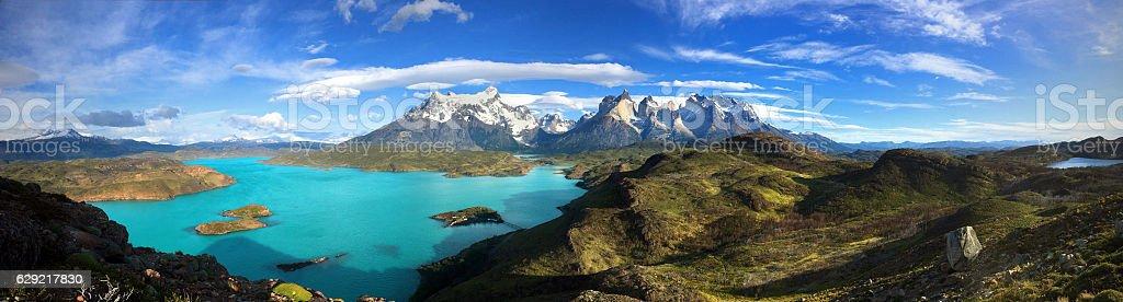 Patagonia panorama stock photo