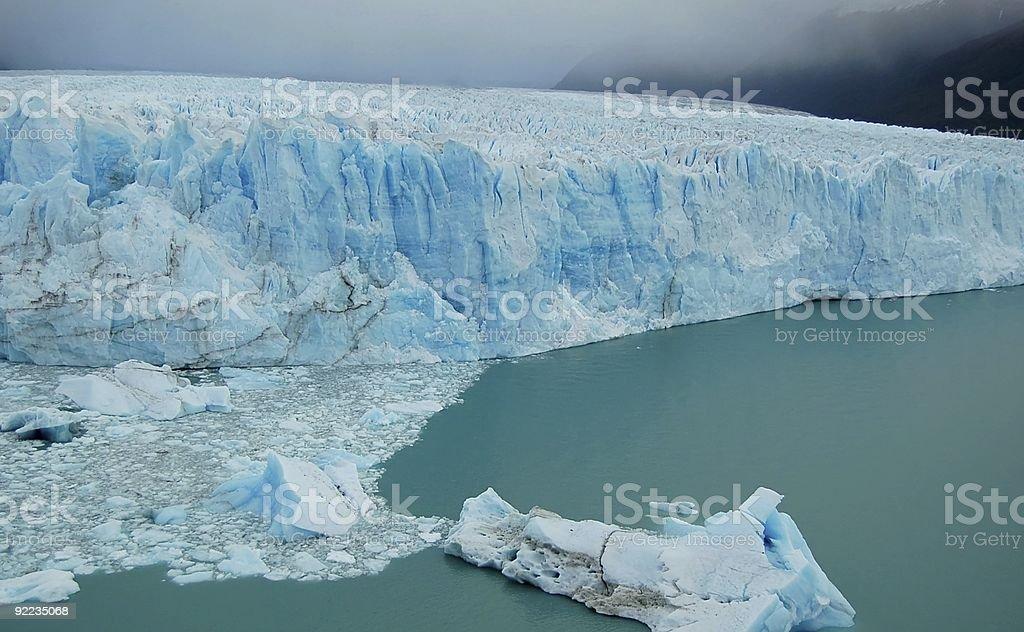 Antar Ice-pole Glacier zbiór zdjęć royalty-free