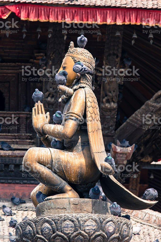 Patan Durbar Square, Kathmandu, Nepal. stock photo