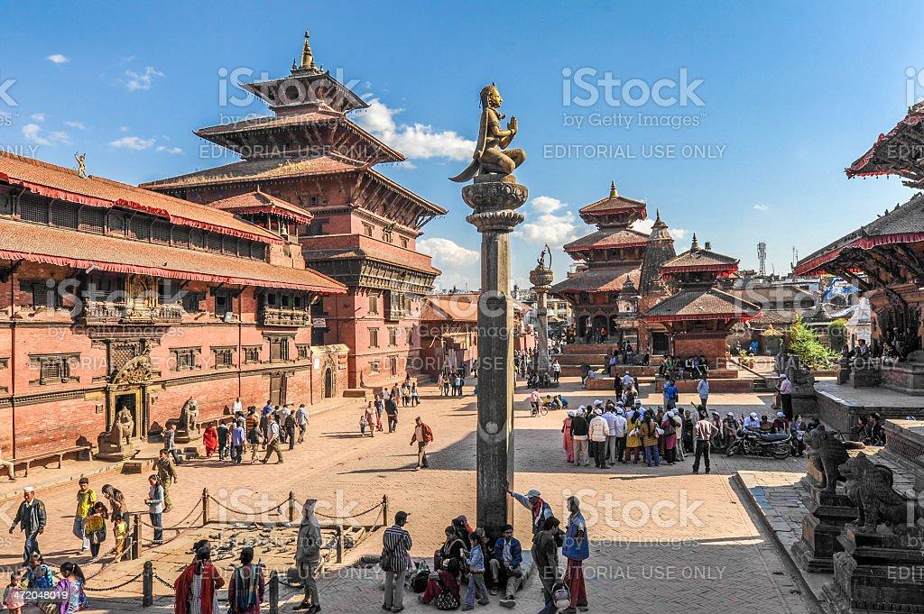 Patan Durbar Square, Kathmandu Valley, Nepal royalty-free stock photo