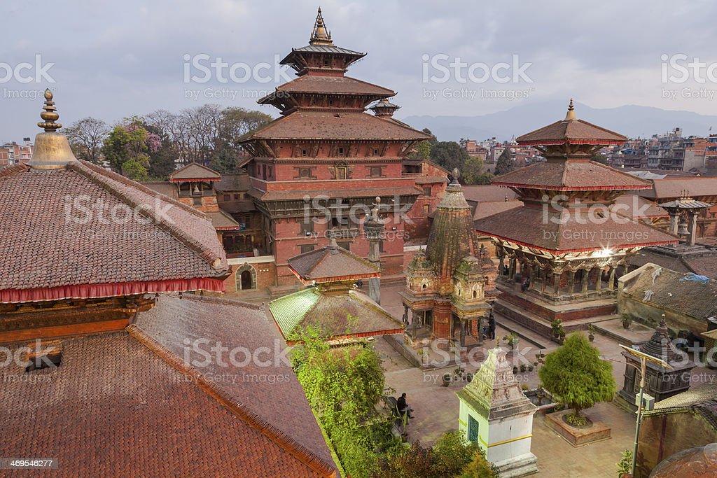 Patan Durbar Square Nepal stock photo