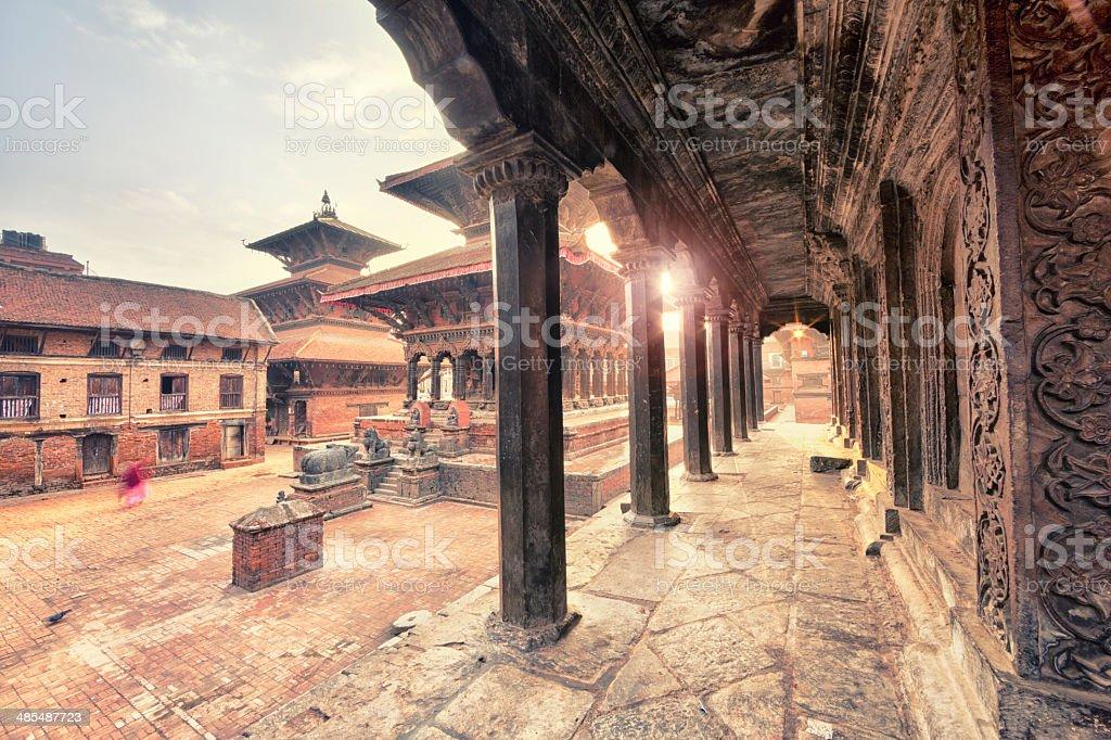 Patan Durbar Square, Nepal royalty-free stock photo
