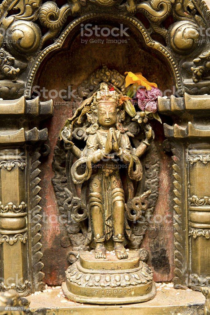 Patan Golden Temple royalty-free stock photo