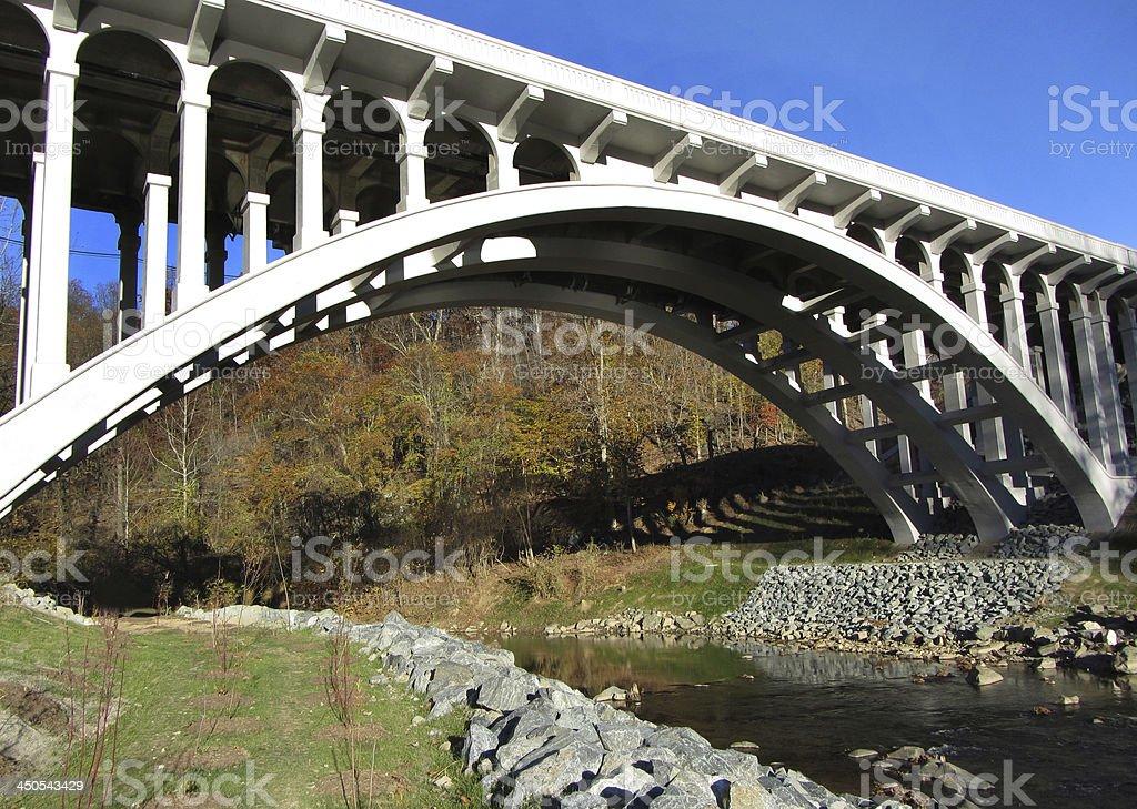 Patapsco River Bridge stock photo