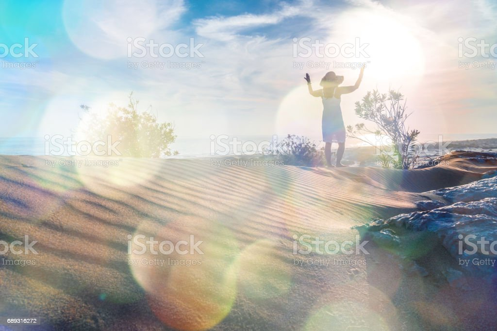 Patara sand hills. stock photo