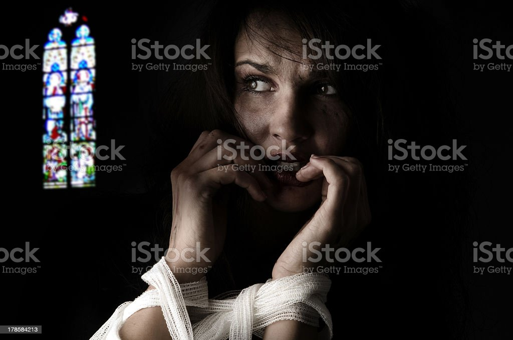 patch and pain royalty-free stock photo