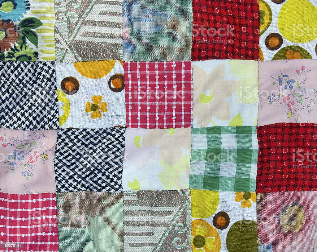 Patchwork background royalty-free stock photo