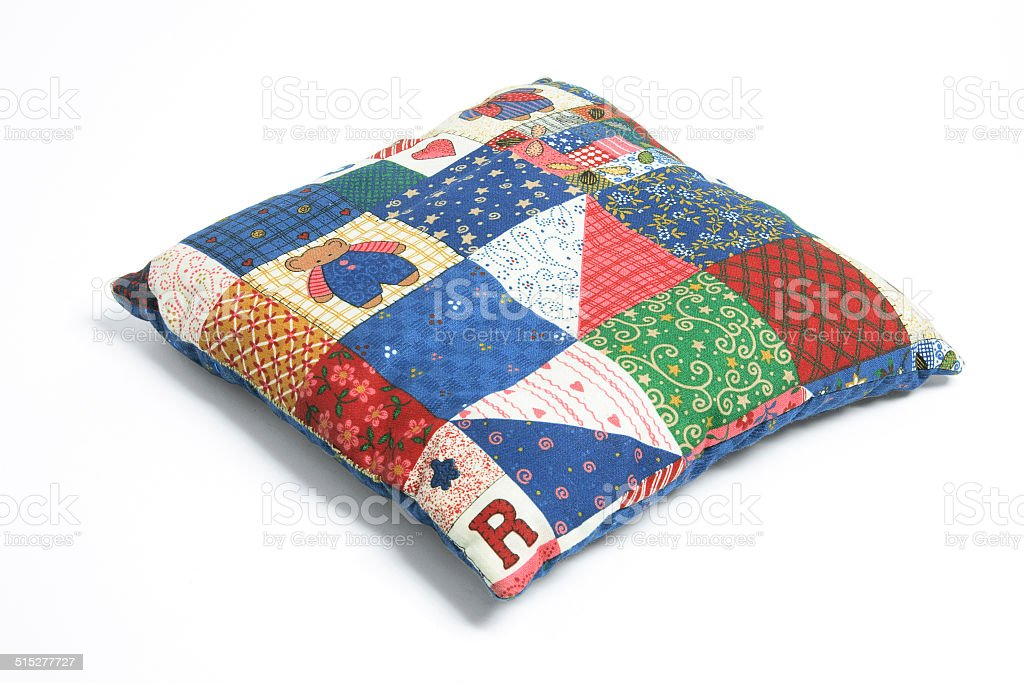 Patchwork Cushion stock photo