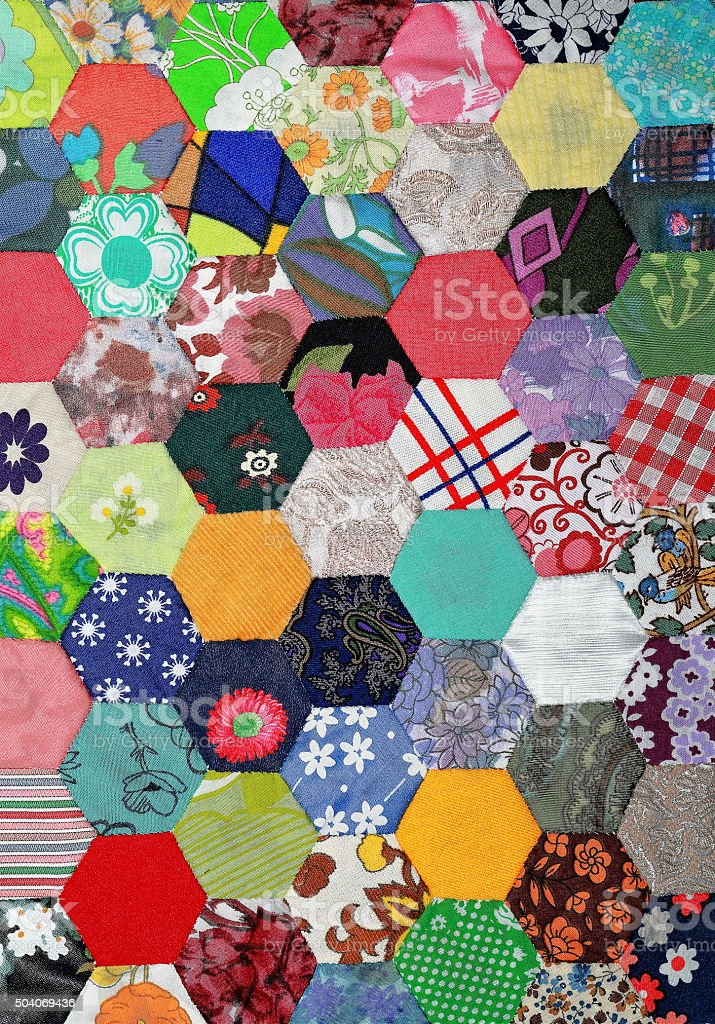 Patchwork Pattern stock photo