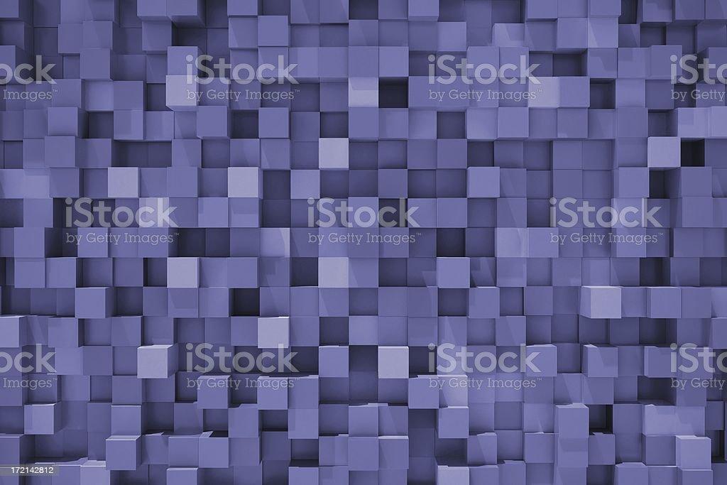 Patchwork (blue) stock photo