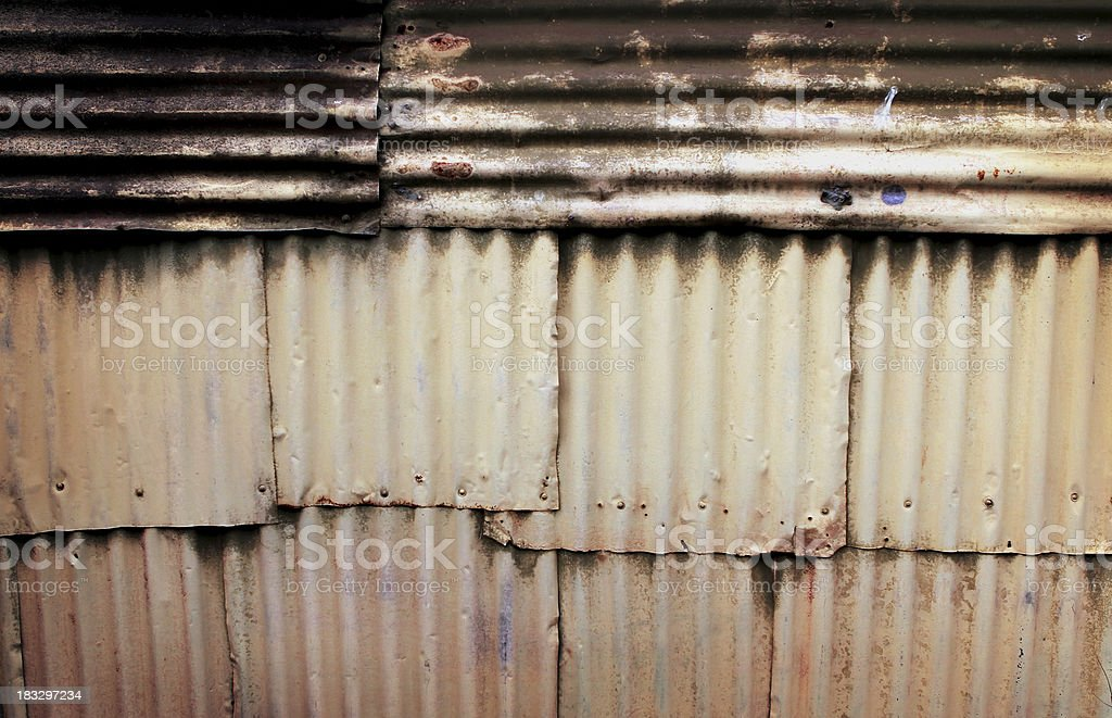 Patchwork Wall stock photo