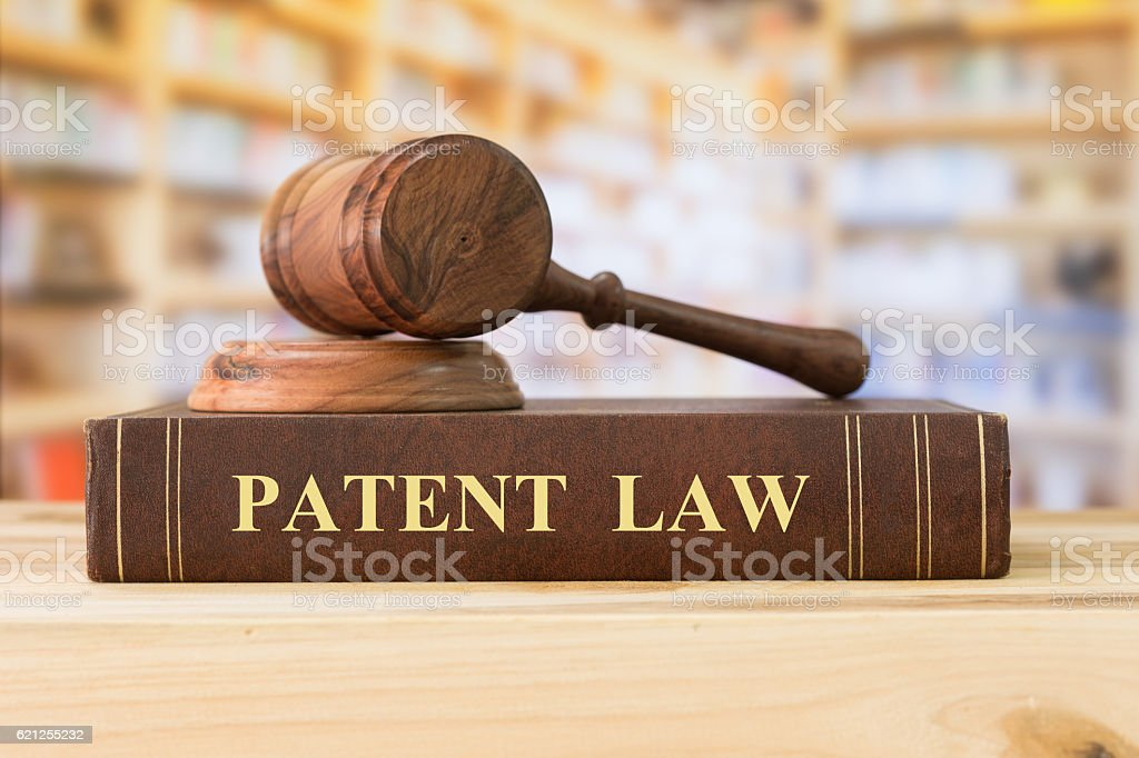 patent law stock photo