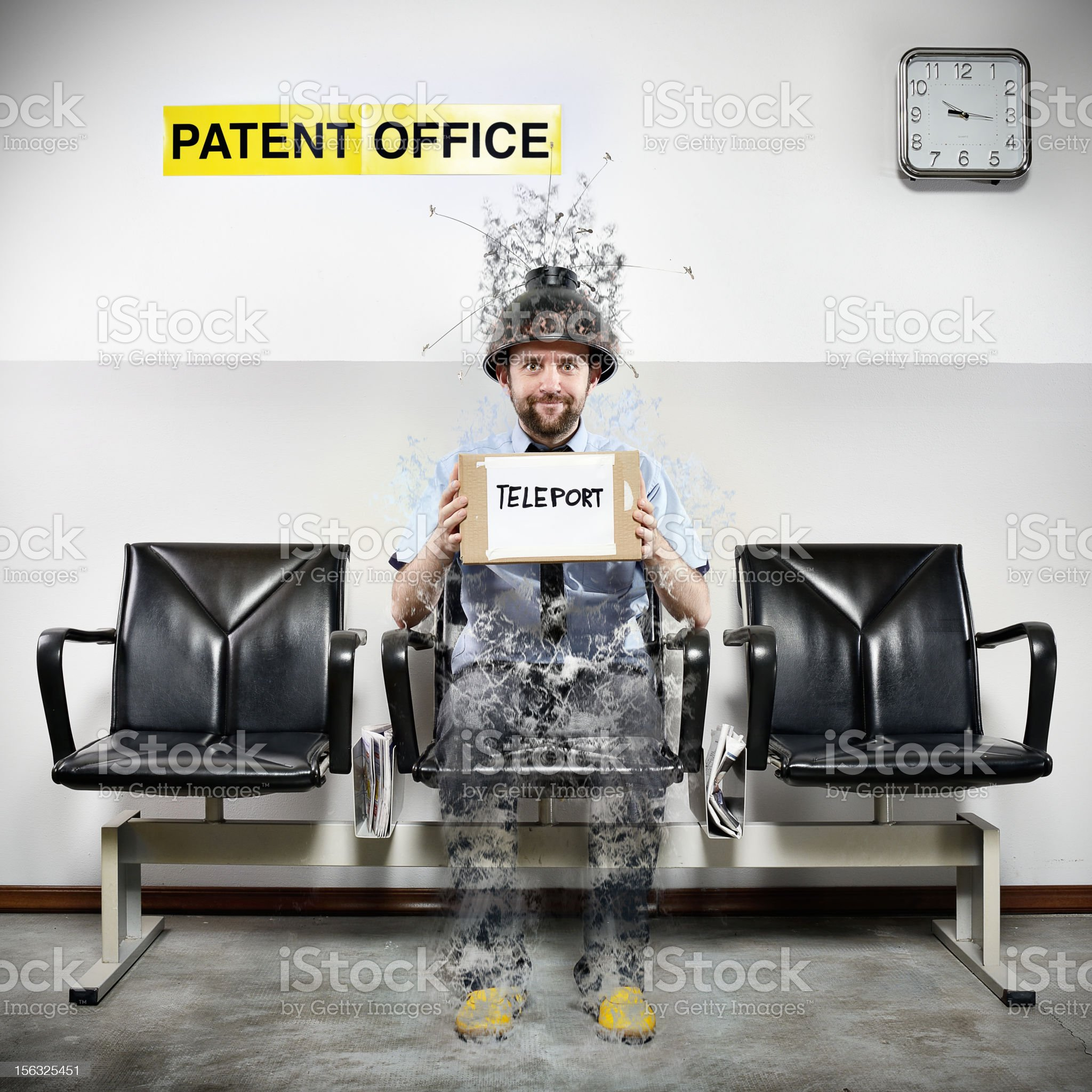 Patent Office Series: Teleport royalty-free stock photo