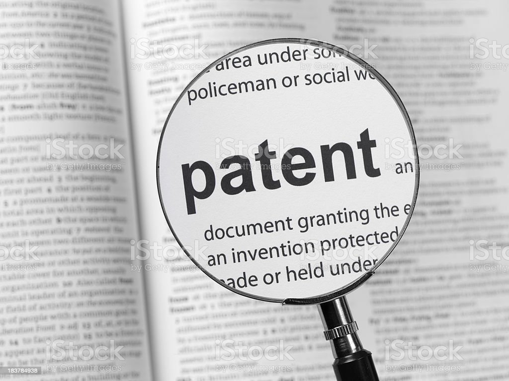patent royalty-free stock photo