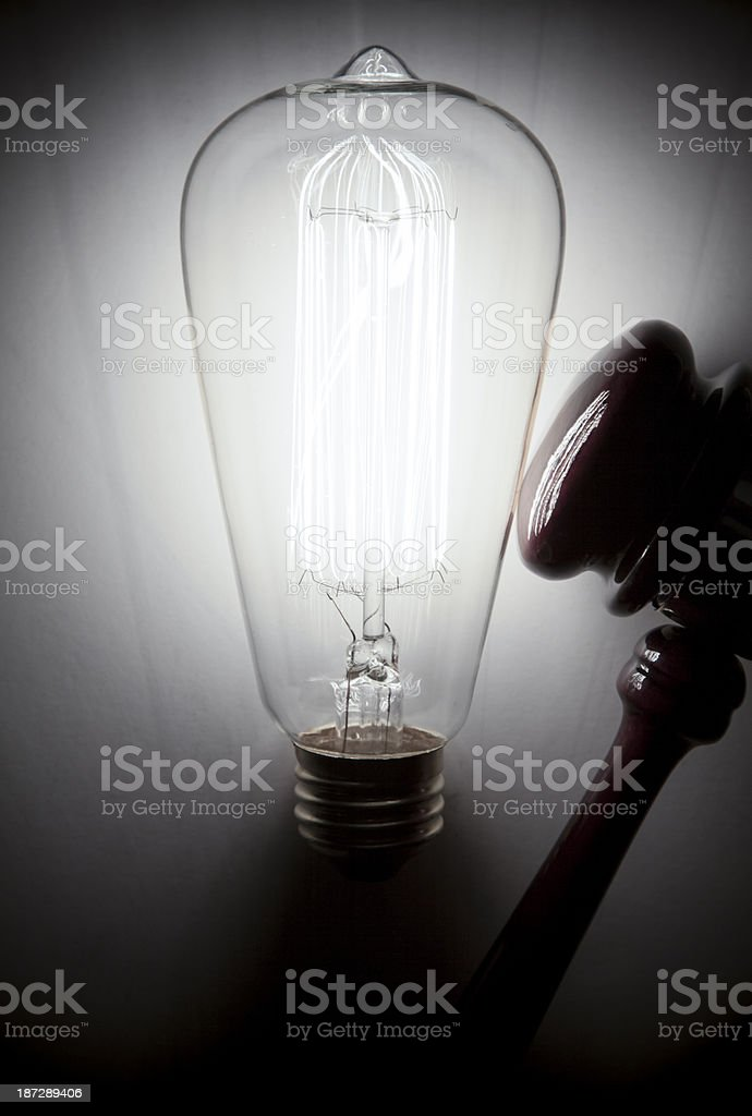 Patent. Protecting Ideas. royalty-free stock photo