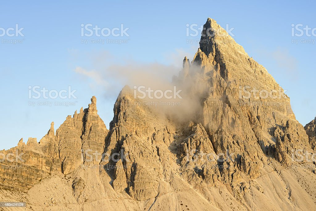 Paternkofel, Dolomites royalty-free stock photo