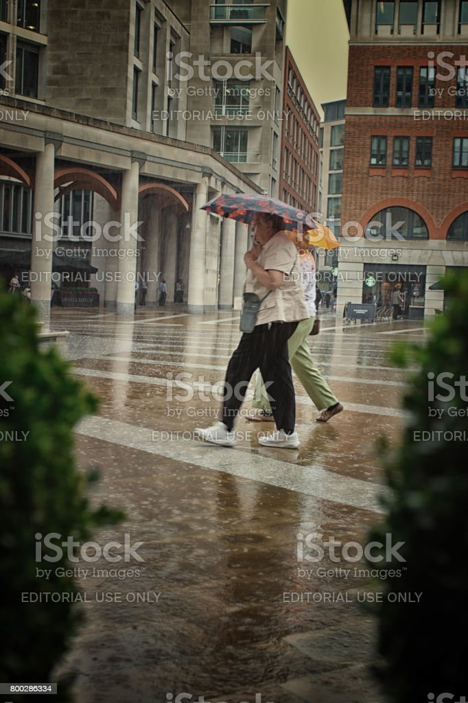 Paternoster Square, London stock photo