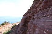 Path along cliffs of Chapmans Peak
