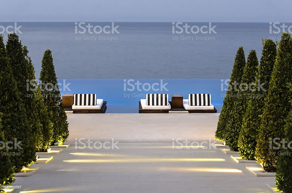 Path leading to heaven royalty-free stock photo