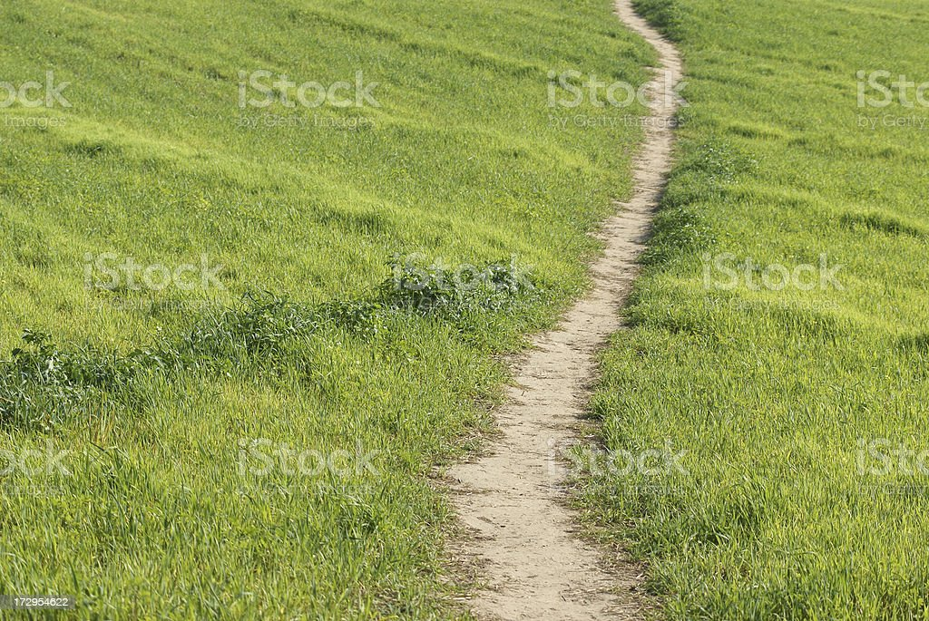 Path royalty-free stock photo