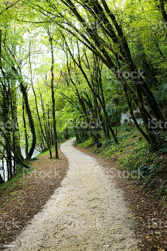 Path photo libre de droits