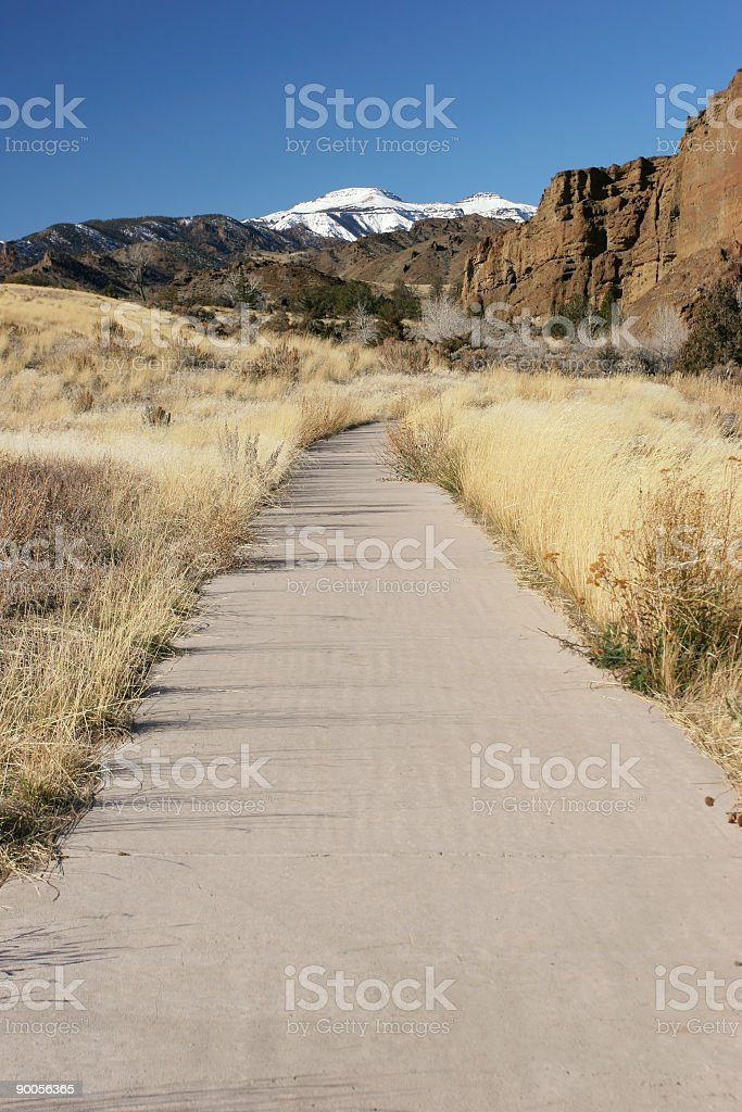 path to nature royalty-free stock photo
