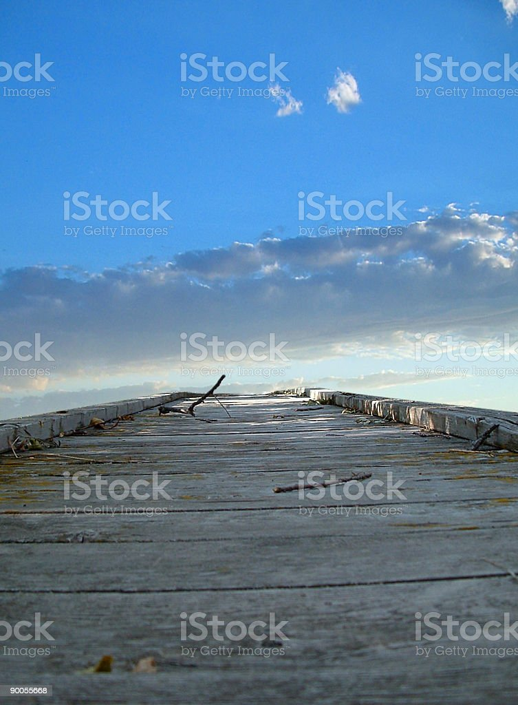 Path to Nowhere royalty-free stock photo