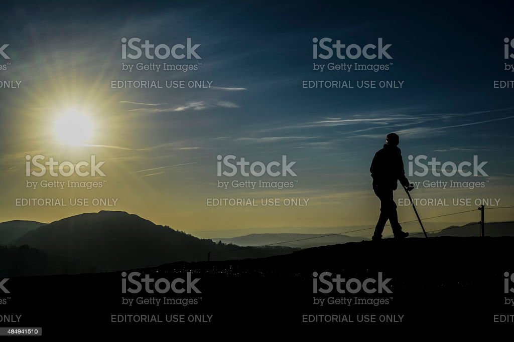 Path to Recovery stock photo
