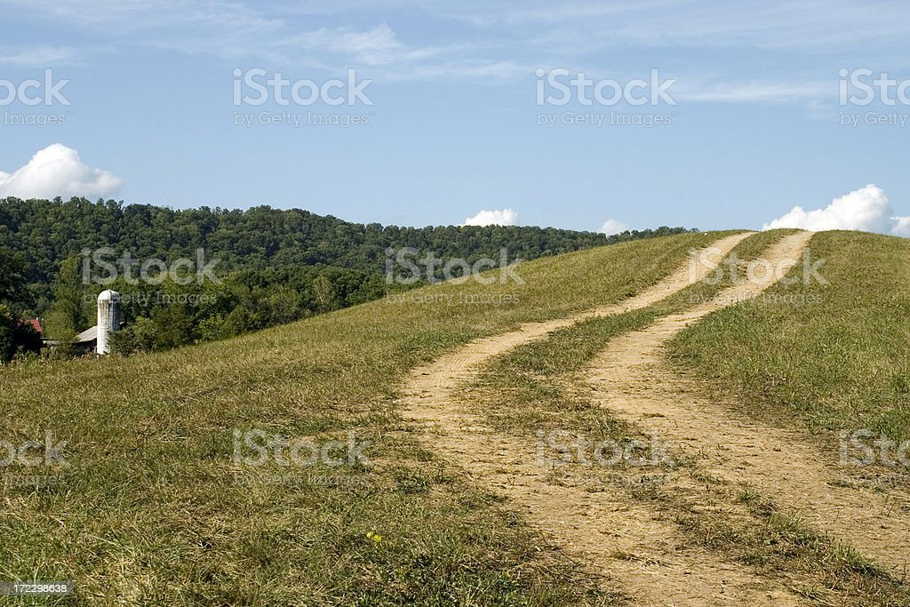 Path To The Clouds royalty-free stock photo